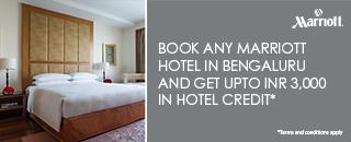 Book Marriott Hotels in India