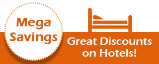 Mega Savings on Hotels